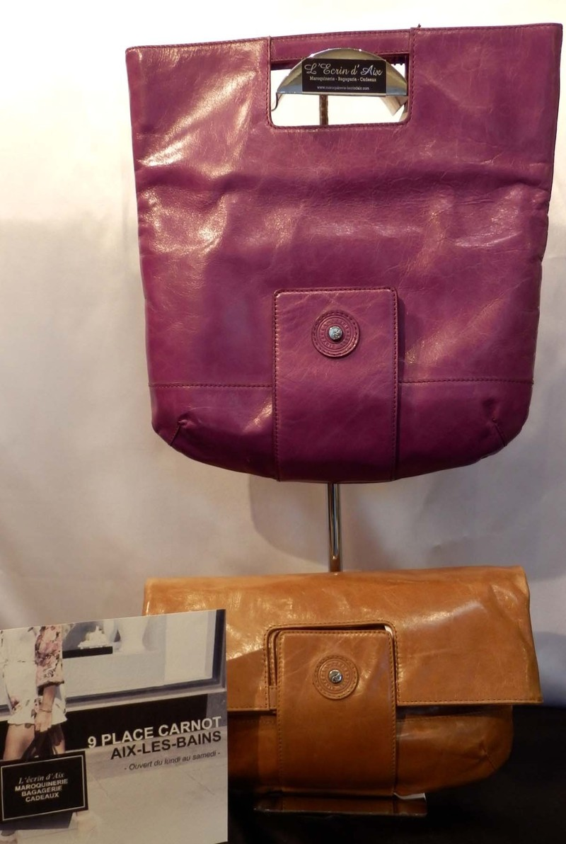 87c7c4ef23 Clutch ou porté sac à main Lamarthe - LAMARTHE Maroquinerie Femme - L'ECRIN  D
