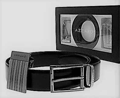Coffret AZZARO ceinture cuir homme - L ECRIN D AIX d76492a5049