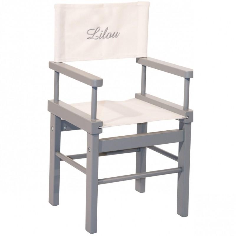fauteuil metteur en sc ne personnalisable aux belles. Black Bedroom Furniture Sets. Home Design Ideas