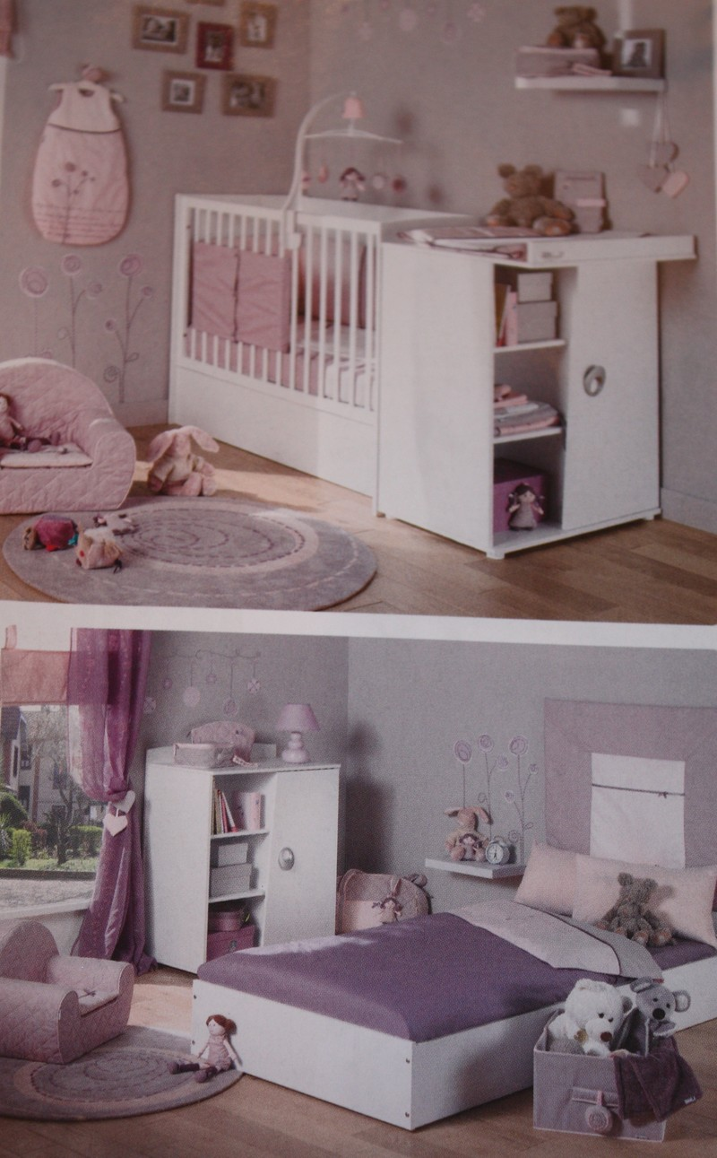 les lits mobilier sauthon et b b lune z autour de bebe starjouet. Black Bedroom Furniture Sets. Home Design Ideas